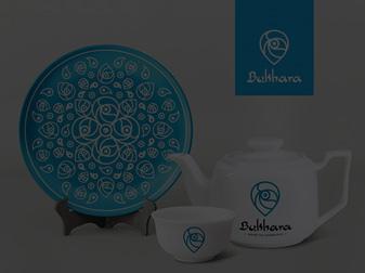 Посуда с логотипом